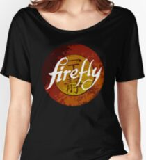 The One Season Only 'FIREFLY' Women's Relaxed Fit T-Shirt