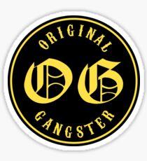 O.G. Original Gangster Sticker