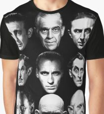 Masters of Horror Graphic T-Shirt