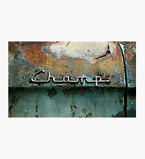Rusty Studebaker Champ Pickup - Detail Photographic Print