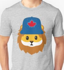 Full Print - Blue Jays No Fear Lion Emoji T-Shirt