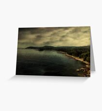 Twilight Lake Greeting Card