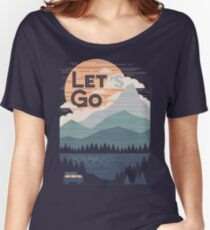 Let's Go Women's Relaxed Fit T-Shirt