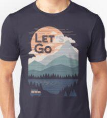 Lass uns gehen Slim Fit T-Shirt