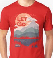 Let's Go Slim Fit T-Shirt