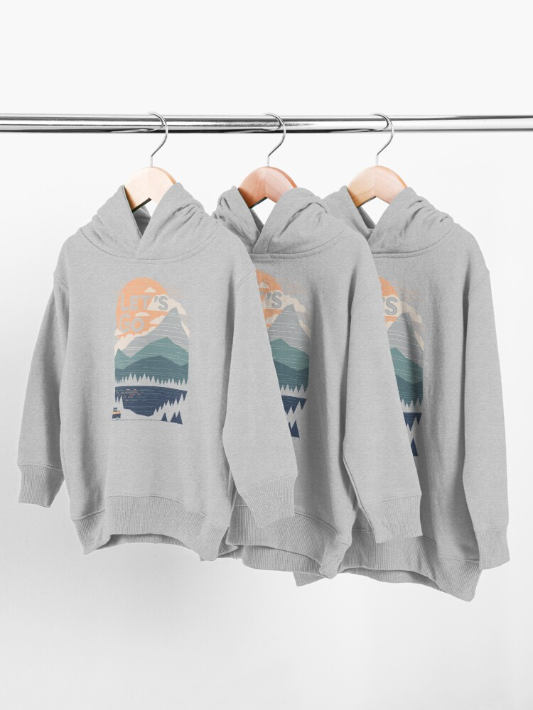 Alternate view of Let's Go Toddler Pullover Hoodie