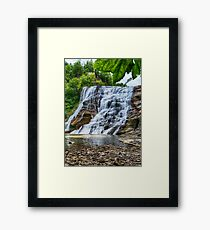 Ithaca Falls Framed Print