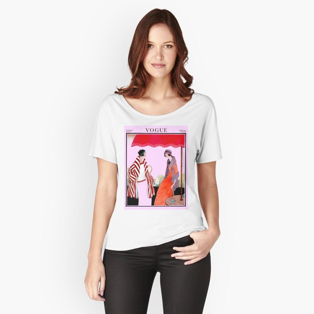 Vogue Vintage 1922 Magazin Werbung Print Baggyfit T-Shirt