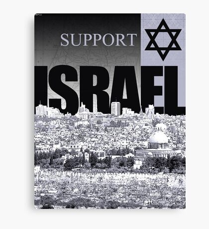 Support Israel Canvas Print