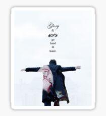 Sherlock & Lorde Sticker