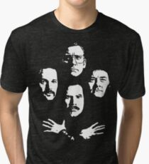I See a Little Silhouetto of an Anchorman Tri-blend T-Shirt