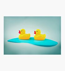 Rubber ducks Photographic Print