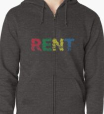 Rent the musical Zipped Hoodie