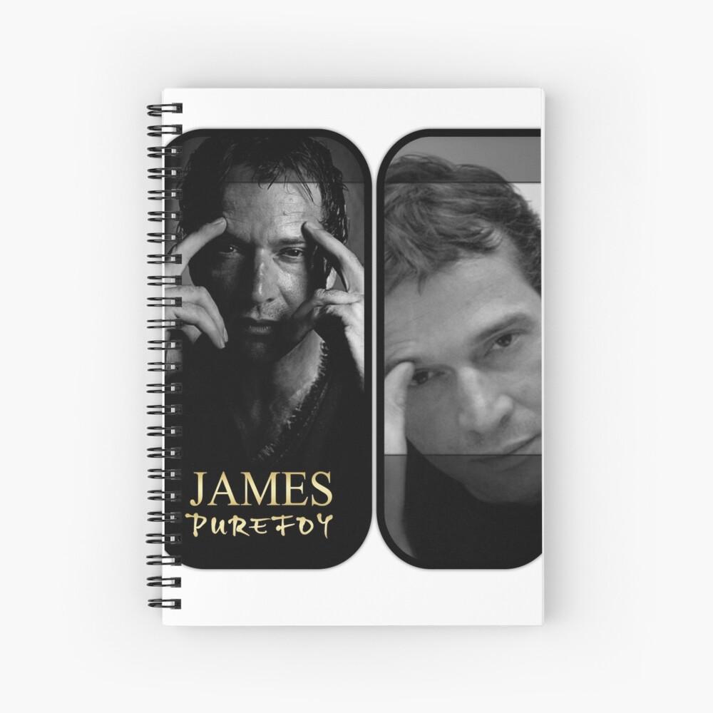 JAMES PUREFOY Spiral Notebook
