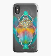 The Darkest Night Will End and the Sun Will Rise (Scarab) iPhone Case