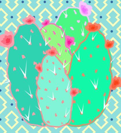 Pear Cactus Sticker