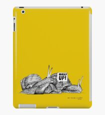 Alford Snails - Hurry Up iPad Case/Skin