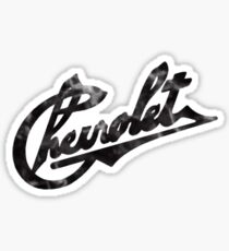 Vintage Chevrolet logo Sticker