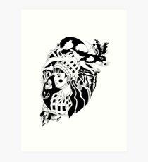 Gwendoline Goldenhare  Art Print