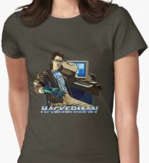 HACKERMAN Womens Fitted T-Shirt