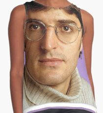 Louis Theroux All Over Print Contrast Tank