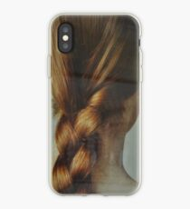 the beautiful lady with the braid iPhone Case