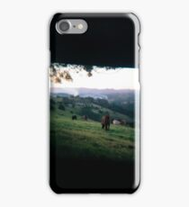 Through the viewfinder - Byron ranges iPhone Case/Skin