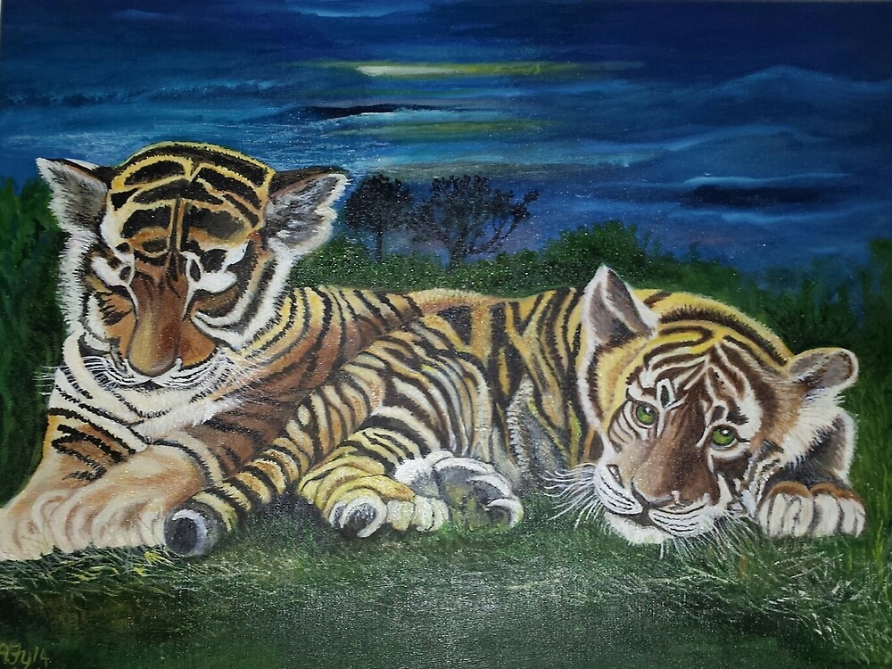 Twilight Tigers by safy