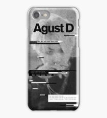 AGUST D Phone Case BTS V6 iPhone Case/Skin