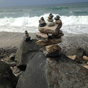 Rock Stack Trio by vanhagen