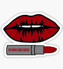 Burlesque Queen Sticker