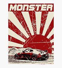 Nissan GTR monster Photographic Print