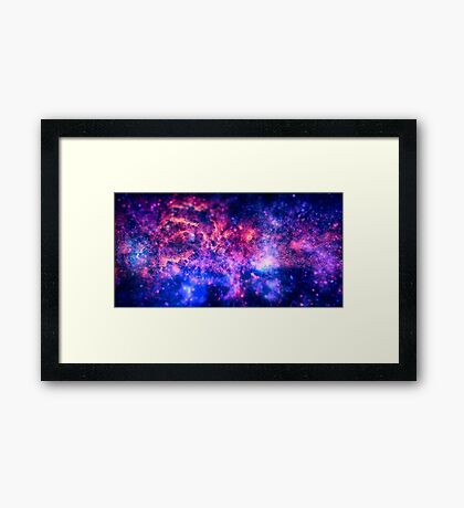 The center of the Universe (The Galactic Center Region ) Framed Print