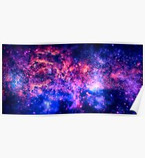The center of the Universe (The Galactic Center Region ) Poster