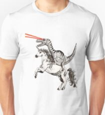 Raptor & Unicorn Unisex T-Shirt