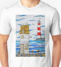 In the harbour Unisex T-Shirt