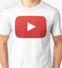 Youtube Play Button Unisex T-Shirt