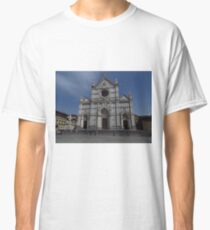 Santa Croce. Neo-Gothic Facade Classic T-Shirt