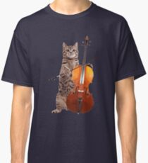 Cello Cat - Meowsicians Classic T-Shirt
