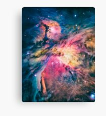 The awesome beauty of the Orion Nebula  Canvas Print