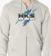 HKS Vintage Zipped Hoodie