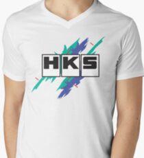 HKS Vintage Men's V-Neck T-Shirt