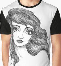 Kate Bush Inspired Illustration Graphic T-Shirt