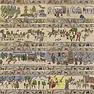 Gabeaux Tapestry - the start of the Outlander journey by jennyjeffries