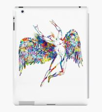 ICARUS THROWS THE HORNS - paint splotches  ***FAV ICARUS GONE? SEE BELOW*** iPad Case/Skin