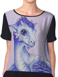 Baby Dragon Chiffon Top