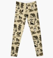 Sea Monsters Collection Leggings