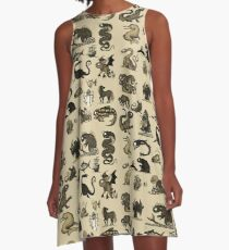 Sea Monsters Collection A-Line Dress