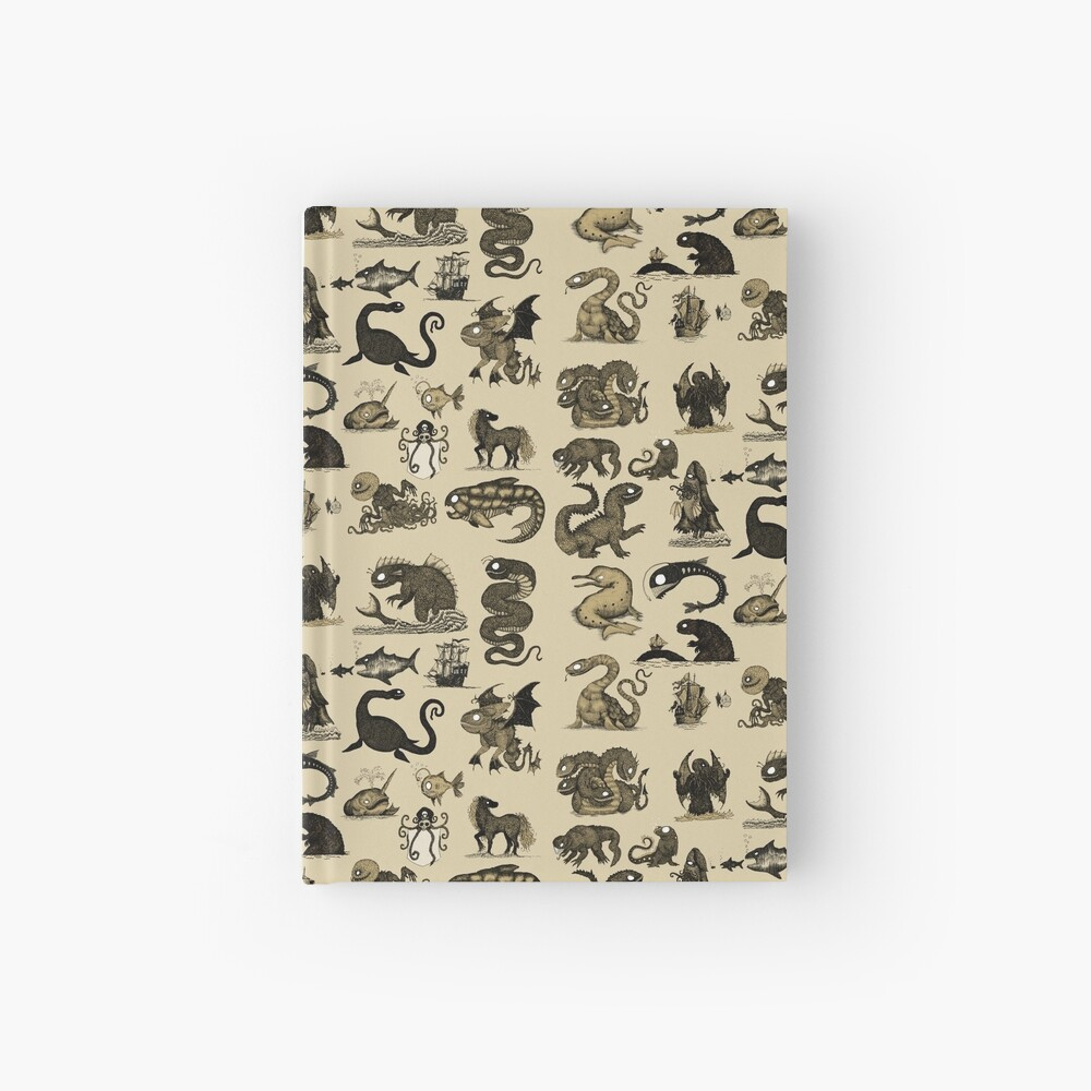 Sea Monsters Collection Hardcover Journal