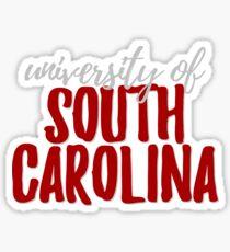 University of South Carolina Sticker